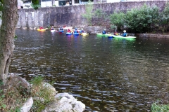 Canoeists at Weirhead 2