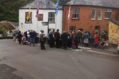 Opening of the 2016 Dulverton Kinetic Sculpture Exhibition (1)