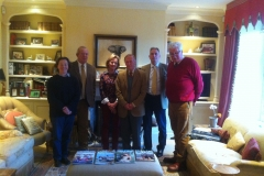 Trustees with their Patron Lord Dulverton-2016-July-2