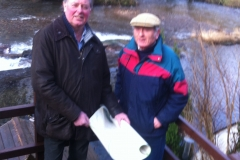 Councillors Nick Thwaites and Bruce Heywood from West Somerset Council