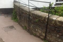Guard rails for Dulverton Kinetic Sculpture Exhibition 2016