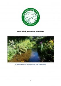 Report of the Wild Trout Trust